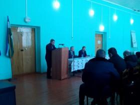 Фотографии встречи Главы района с жителями СП Шариповский сельсовет